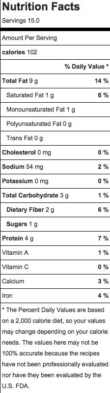 hamantaschen nutrition